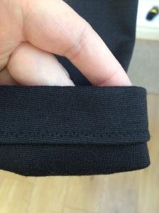 lovely sleeve facing!