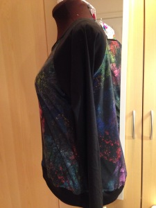 Side view - so much more drape than in the first version